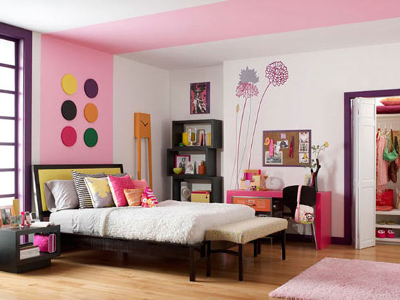 teenage-bedroom-pink-rooms