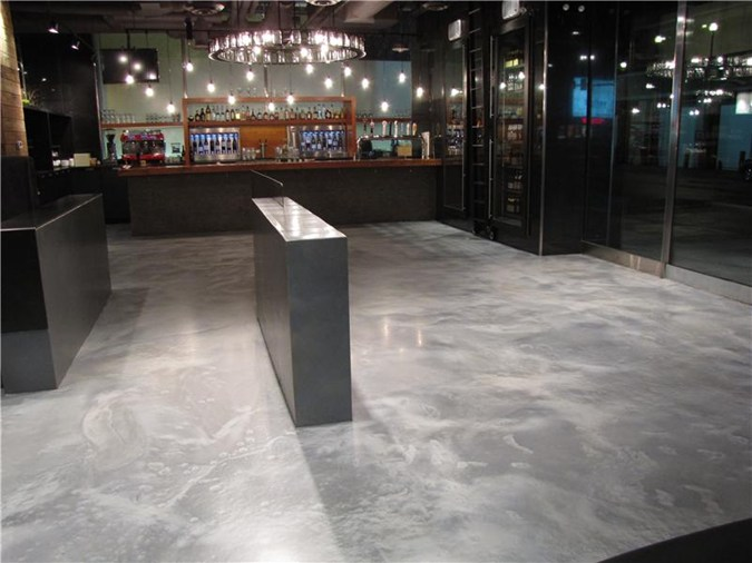 Concrete Look - Epoxy Floor