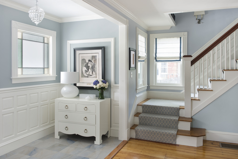 Baby Blue Interior Paint
