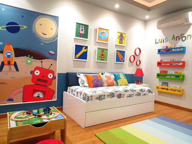 Colorful Play Rooms